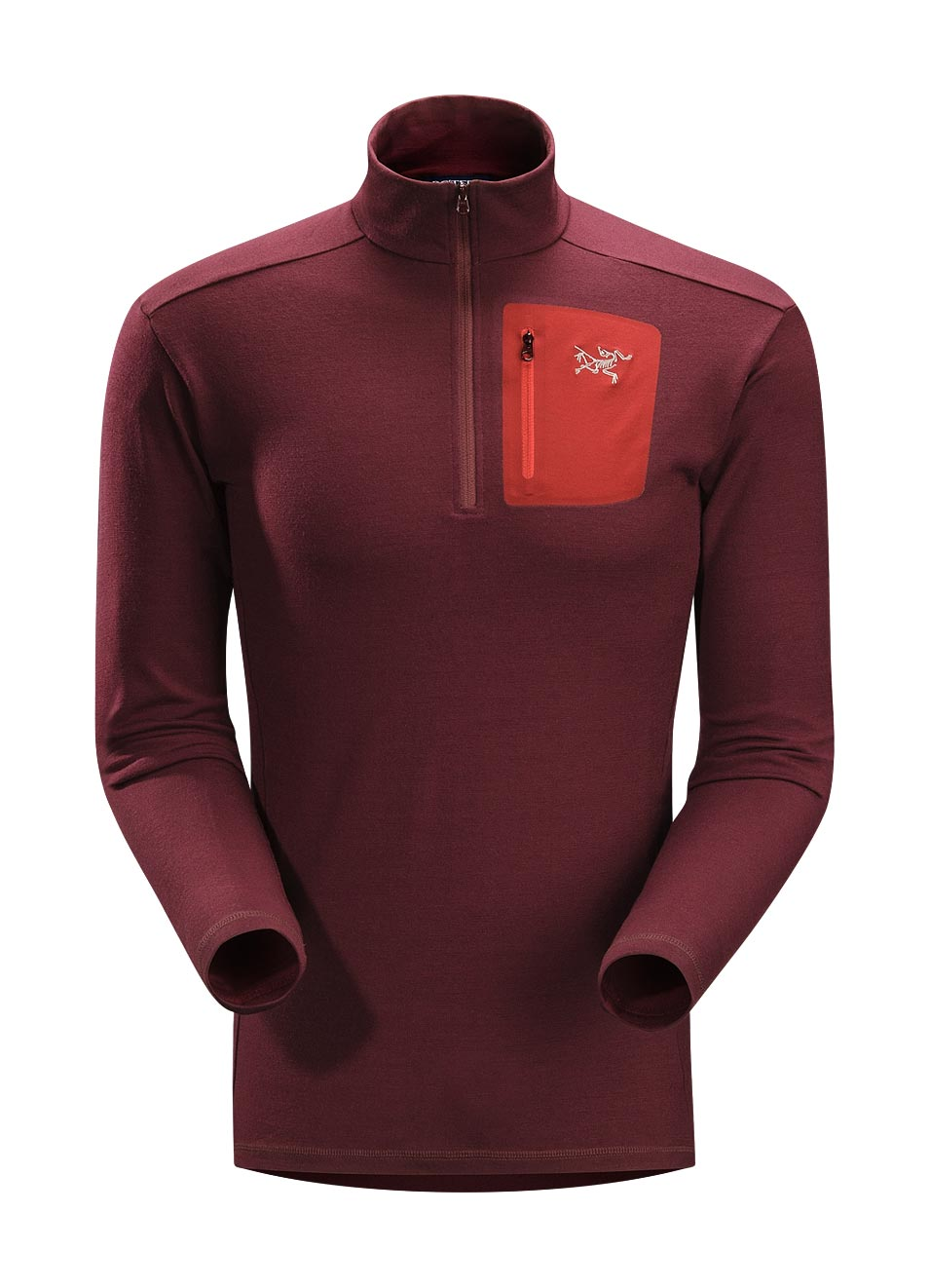 Arcteryx Tibetan Red Rho LTW Zip